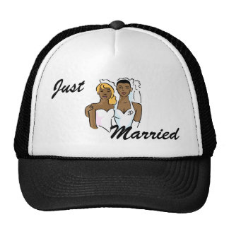 Beautiful Black Brides Cap