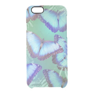 Beautiful bright butterflies clear iPhone 6/6S case