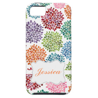 Beautiful Bright Spring Flowers Custom Iphone Case