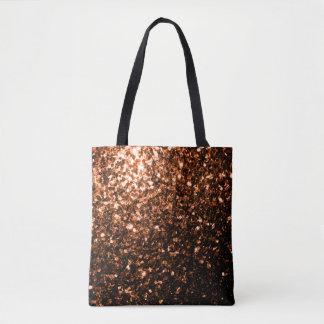 Beautiful Bronze Orange Brown glitters sparkles Tote Bag