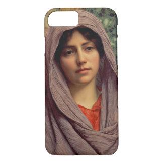 Beautiful Brunette 1918 iPhone 7 Case