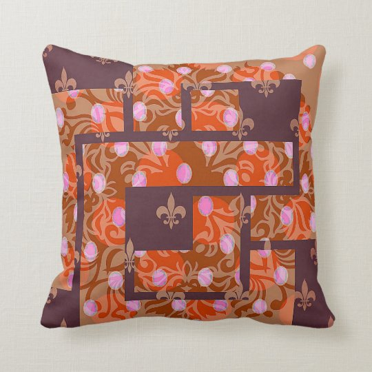 Beautiful Cushion in Abstract Design