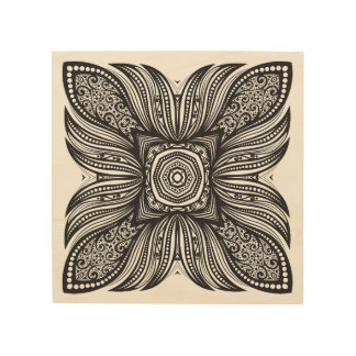 Beautiful Decor Square Doodle 5