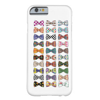 Beautiful Decorative BowTie Patterns iPhone 6 case Barely There iPhone 6 Case