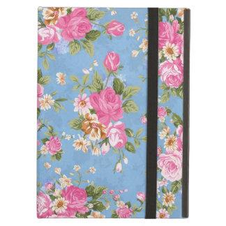 Beautiful elegant girly vintage roses flowers iPad air cover