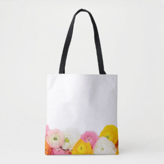 Beautiful floral composition tote bag