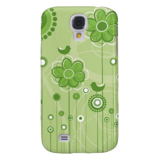 Beautiful Floral Decor  Galaxy S4 Case