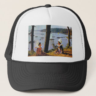 Beautiful French scenes Trucker Hat