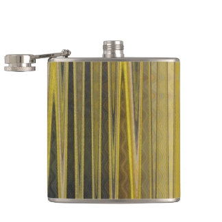 Beautiful Golden Flask - Make It Your Own