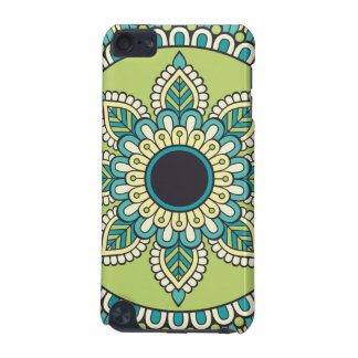 Beautiful green Boho Design iPod Touch (5th Generation) Cover