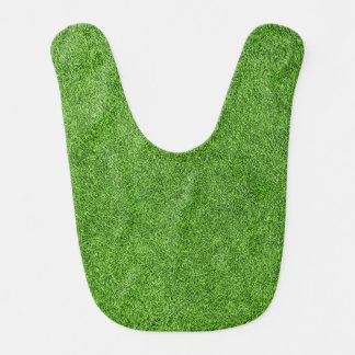 Beautiful green grass texture from golf course bib