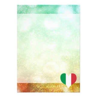 Beautiful Italian 13 Cm X 18 Cm Invitation Card