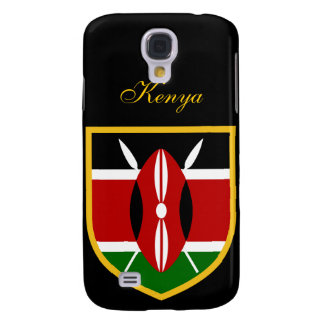 Beautiful Kenya Flag Galaxy S4 Case