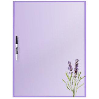 Beautiful Lavender Dry Erase Board