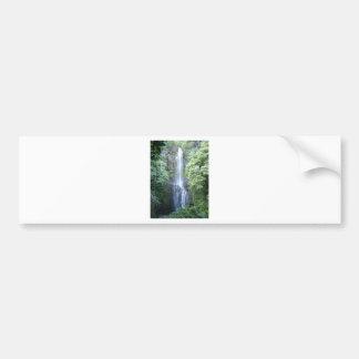 Beautiful Maui Waterfall Bumper Sticker