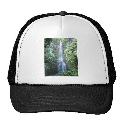 Beautiful Maui Waterfall Mesh Hat