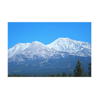 Beautiful Mount Shasta Canvas Stretched Canvas Prints