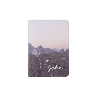 Beautiful Mountain Passport Holder