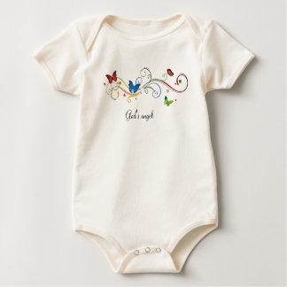 Beautiful nature baby bodysuit