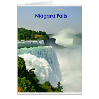 Beautiful Niagara Falls New York Card
