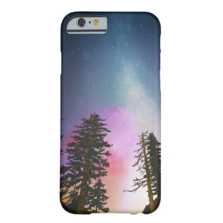 Beautiful night sky shining up to the heavens barely there iPhone 6 case