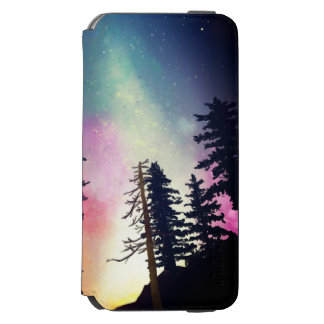 Beautiful night sky shining up to the heavens incipio watson™ iPhone 6 wallet case
