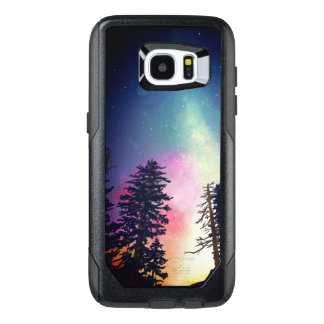 Beautiful night sky shining up to the heavens OtterBox samsung galaxy s7 edge case