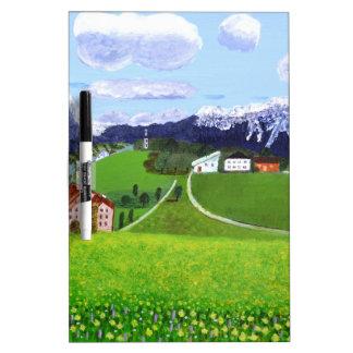 Beautiful Norway Dry Erase Board