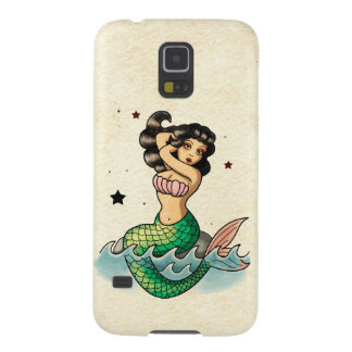 Beautiful Old School Mermaid Galaxy S5 Cover