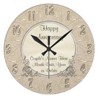 Beautiful PERSONALIZED Anniversary Clock