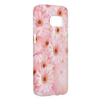 beautiful pink flowers vector art