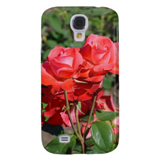 Beautiful pink roses print galaxy s4 case