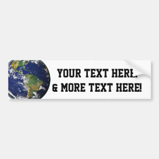 Beautiful Planet Earth Bumper Sticker
