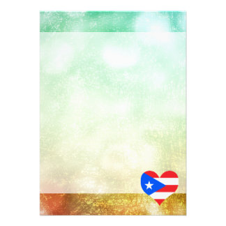 Beautiful Puerto Rican 13 Cm X 18 Cm Invitation Card