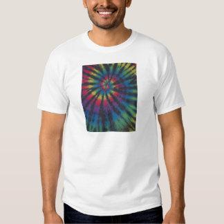 Beautiful Rainbow Swirl Spiral Tie Dye PhatDyes T Shirts