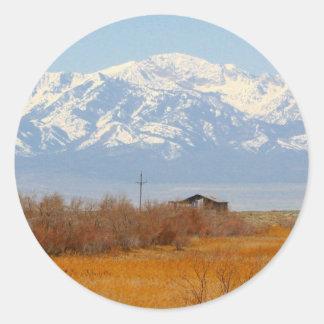 Beautiful Salt Lake City, Utah Classic Round Sticker