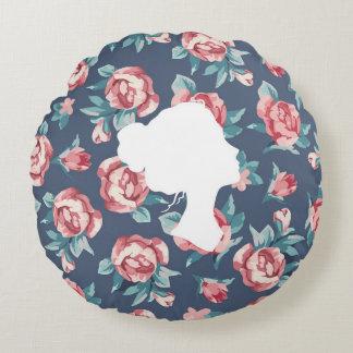 Beautiful Strength (Roses) - Circle Pillow