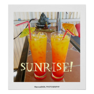 Beautiful Sunrise Poster! Poster