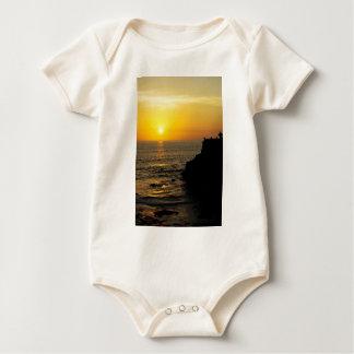 beautiful sunset on Bali island Baby Bodysuit