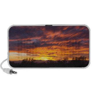 Beautiful Sunset Portable Speakers