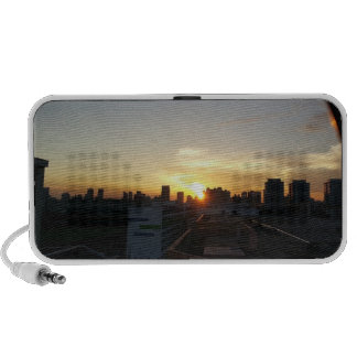 Beautiful Sunset Premium Doodle Speaker