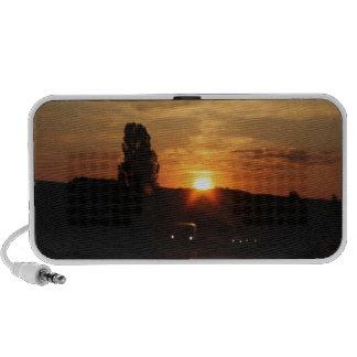 Beautiful sunset iPhone speaker