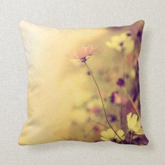 Beautiful tender flowers pillow