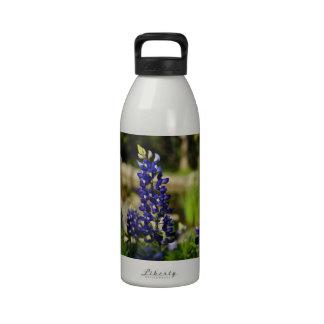 Beautiful Texas Bluebonnet Water Bottle