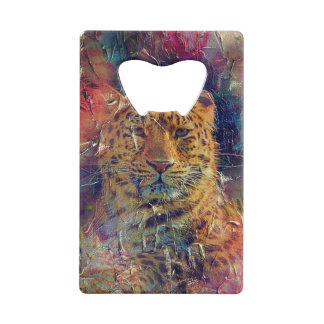 Beautiful Tiger Bright Color Grunge