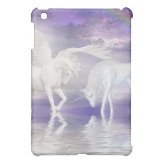 Beautiful Unicorn and Pegasus Fantasy Case For The iPad Mini