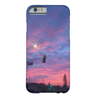 Beautiful urban transitional night sky iphone case