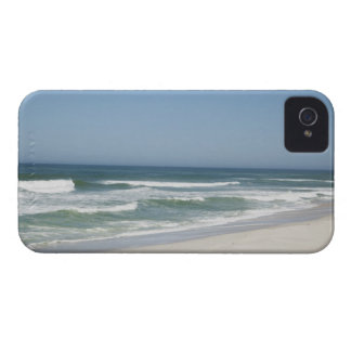Beautiful view of beach against clear sky 2 iPhone 4 covers