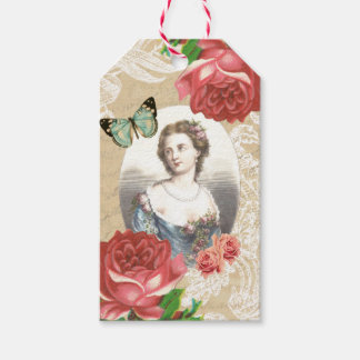 Beautiful vintage gift tags