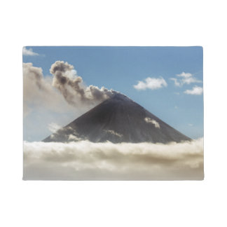 Beautiful volcanic activity doormat